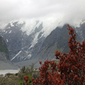 Red and White at Mount Cook
