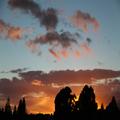 Sunrise in Te Anau