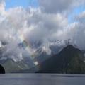 Rainbow Over Lake Manapouri