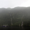 Three Masts in Doubtful Sound